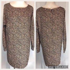 Ann Taylor Loft Women's Shift Dress Size Medium LS